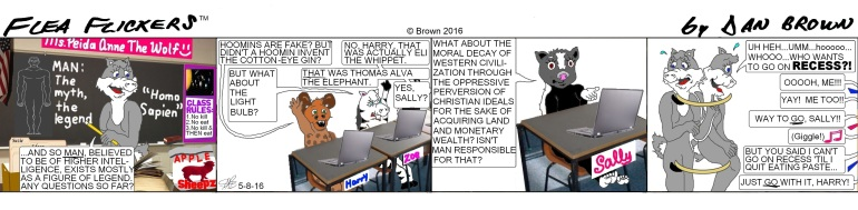 chronological daily strip 5