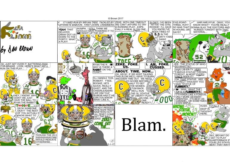 chronological strip #100 (Sunday strip #10)